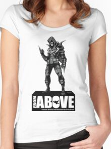 From Above Comic Book - character 01 Women's Fitted Scoop T-Shirt