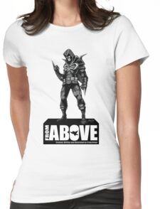 From Above Comic Book - character 01 Womens Fitted T-Shirt