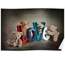 Still Life #24 - Bear Love Poster