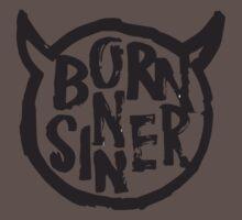 Born Sinner Black Kids Clothes