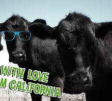 With Love From California Cows by Scalawag