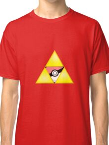 Zelda Triforce ( courage, wisdom, power, and pokemon ) Classic T-Shirt