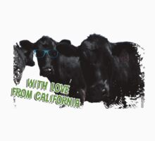 With Love From California Cows Kids Clothes