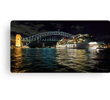 Sydney Harbour Cruise 2 Canvas Print
