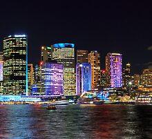 Vivid Circular Quay, Sydney by Michael Clarke