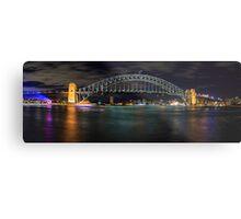 Sydney Harbour Bridge Panorama Metal Print