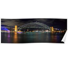 Sydney Harbour Bridge Panorama Poster