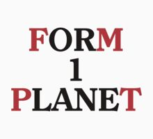 FORM ONE PLANET One Piece - Long Sleeve