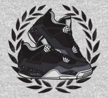 Air Jordan IV (Oreo Inspired Kicks) Kids Tee