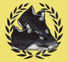 Air Jordan IV (Oreo Inspired Kicks) Kids Clothes