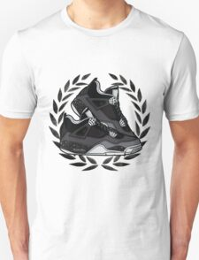 Air Jordan IV (Oreo Inspired Kicks) Unisex T-Shirt