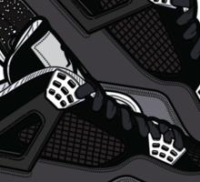 Air Jordan IV (Oreo Inspired Kicks) Sticker