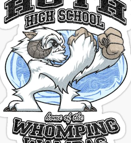 Whomping Wampas Sticker