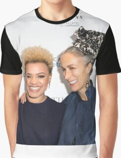 Gemma Cairney and Caryn Franklin Graphic T-Shirt