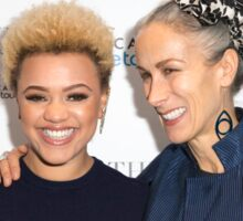 Gemma Cairney and Caryn Franklin Sticker