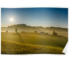 Sunny hills Poster