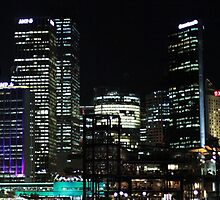 Vivid 2013 - Circular Quay and The Rocks Pano by Kezzarama