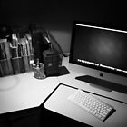 My desk : The modern day photographers dark room. by Nick Egglington