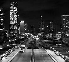 Melbourne Street Bridge Brisbane Queensland. by Nicholas Griffin