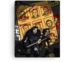 A Song of Future Past (this art has spoilers) Canvas Print