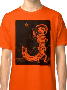 Share Favorite Dr. Johan Von Skinkely Investigates Sector 12 (Black Version) Classic T-Shirt