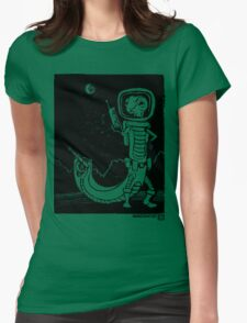 Share Favorite Dr. Johan Von Skinkely Investigates Sector 12 (Black Version) Womens Fitted T-Shirt