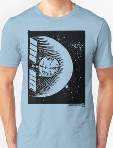 Orbital Satellite Delta-6 (Black Version) T-Shirt