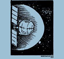 Orbital Satellite Delta-6 (Black Version) Unisex T-Shirt