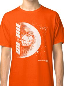 Orbital Satellite Delta-6 (White Version) Classic T-Shirt