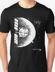 Orbital Satellite Delta-6 (White Version) T-Shirt