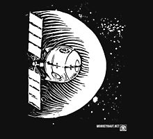 Orbital Satellite Delta-6 (White Version) Unisex T-Shirt