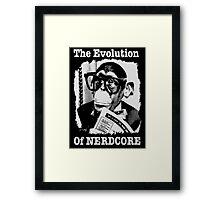 The Evolution of Nerdcore Framed Print