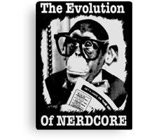 The Evolution of Nerdcore Canvas Print