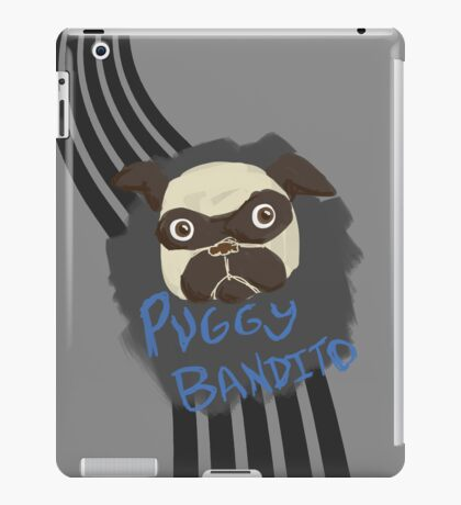 Puggy Bandito iPad Case/Skin