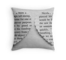 A Love Story Throw Pillow