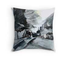 Elm Road 2 Throw Pillow