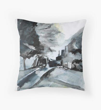 Elm Road 2 Throw Pillow