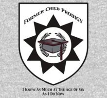 Former Child Prodigy Kids Tee