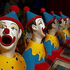 Laughing Clowns  by GayeL Art