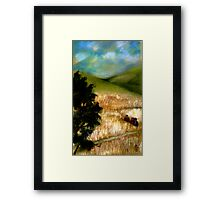 In the Fields Framed Print