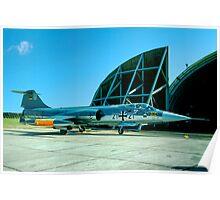 Fiat RF-104G Starfighter 21+21 Poster