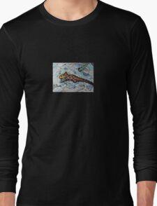 347 - RABBITFISH DESIGN - DAVE EDWARDS - COLOURED PENCILS & FINELINERS - 2012 Long Sleeve T-Shirt