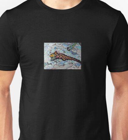 347 - RABBITFISH DESIGN - DAVE EDWARDS - COLOURED PENCILS & FINELINERS - 2012 T-Shirt