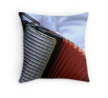 putting the squeeze on Throw Pillow