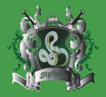 Slytherin Harry Potter by VirtualMan