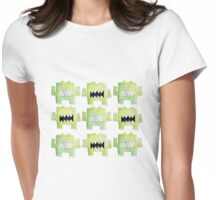 Nine germs Womens Fitted T-Shirt