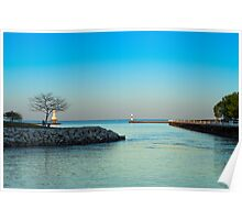Summer Marina Poster
