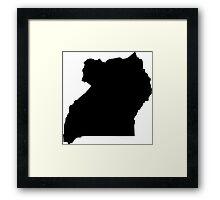 Uganda Framed Print