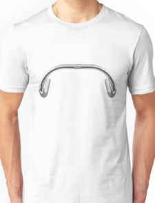 Classic Track Handlebars - No Text Unisex T-Shirt