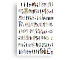 Major Queuing  Canvas Print